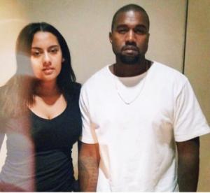 Bibi Bourelly and Kanye West